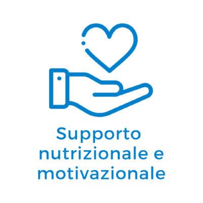 supporto nutrizionale e motivazionale
